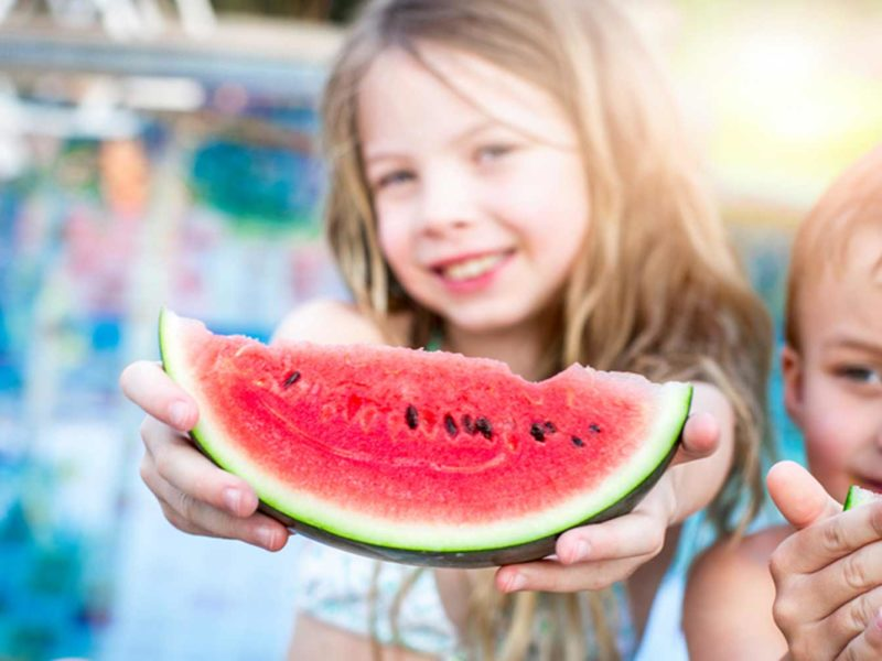 Keep the Kids Eating Healthy at Home for the Summer
