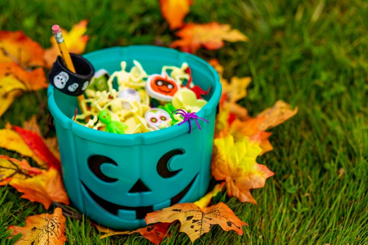 teal pumpkin toys instead of candy
