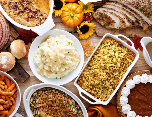 Top 5 Thanksgiving Sugar Bombs